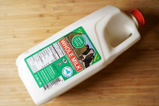 Hudson Valley Whole Milk Half Gallon