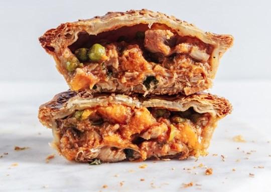 Indian Chicken Pie (Baked)
