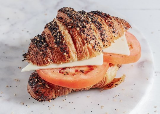 Tomato & Cheese Everything Croissant