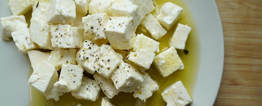 House Marinated Feta Cheese