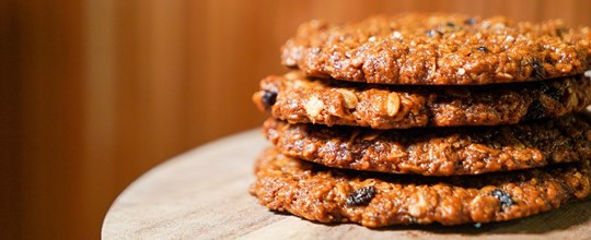 Oat & Barberry Cookie