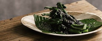 Chargrilled Gailan with Balinese Sesame Dressing (GF, VG) - Shared Between 2