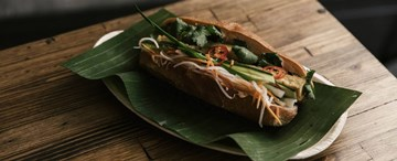 Lemongrass Tofu Banh Mi (VG) - 1pc