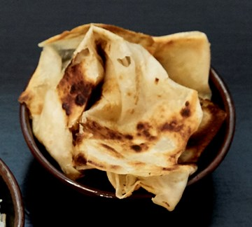 Chargrilled Roti Bread with Satay Sauce - 1pc