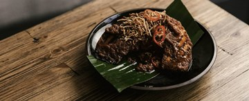 Grilled Pumpkin with Rendang Curry (GF, VG) - Shared Between 2