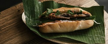 Braised Beef Brisket Banh Mi - 1pc