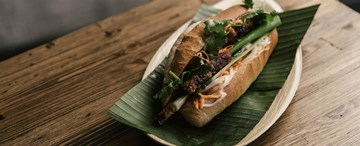 Caramelised Pork Banh Mi - 1pc