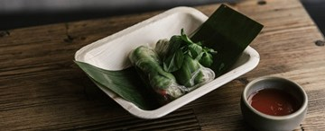Avocado Rice Paper Rolls with Ginger Nuoc Cham  (GF, VG) - 2pc