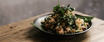 Chargrilled Corn Salad - Puffed Corn, Peanuts and Chilli (GF, VG) - Shared Between 2