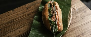 Grilled Chicken Banh Mi - 1pc