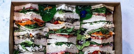 Sandwich platter 20 points (5 sandwiches)