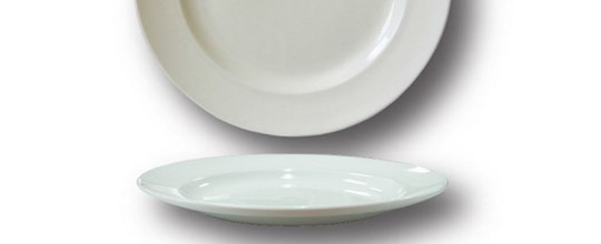 Harmony side plate 165mm white