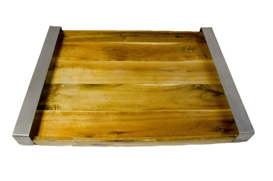 Timber cheese or antipasto board 650mm x 455 mm