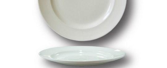 Harmony dessert plate 180mm white