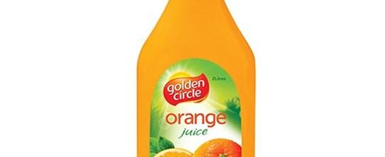 Orange juice 2 litre