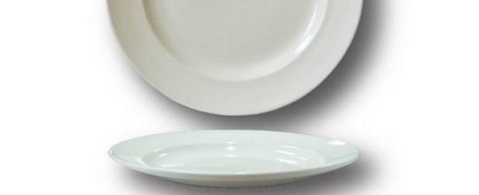 Harmony main plate 270mm white