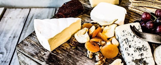 Australian cheese platter