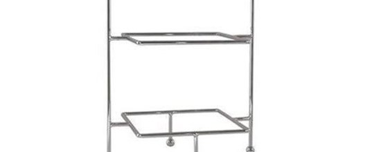 3 tier stands stainless steel small, suit harmony 270mm plate