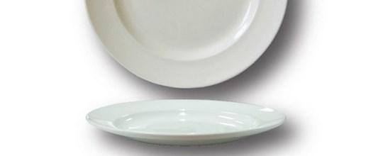 Harmony main plate 310mm white
