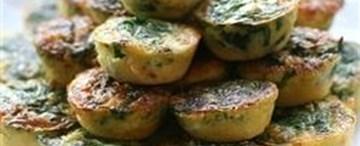 Mini Quiche Spinach & Feta