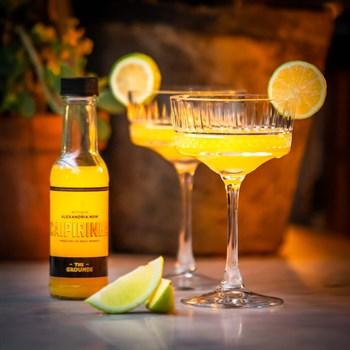 Passionfruit Caipirinha Cocktail