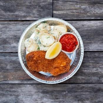 Mini Chicken Schnitzel