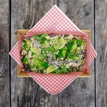 Chicken Chirashi Salad