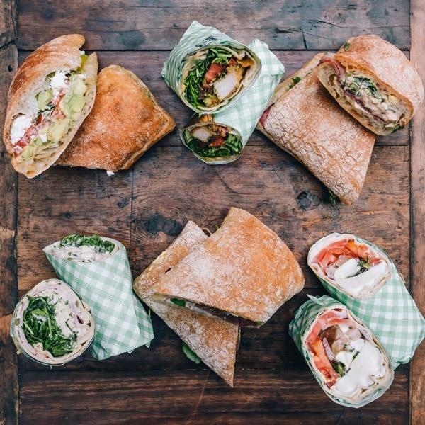 Mixed Sandwiches & Wraps