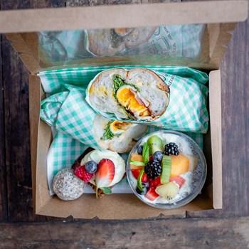 Bacon & Egg Brekkie Box