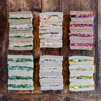 Mixed Finger Sandwich Selection