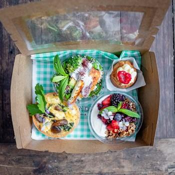Veggie Brekkie Box