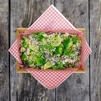 Salmon Chirashi Salad