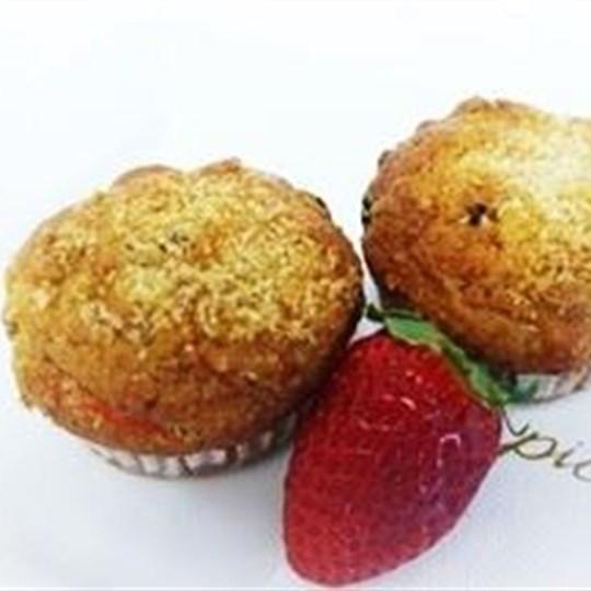Gluten free and vegetarian muffin