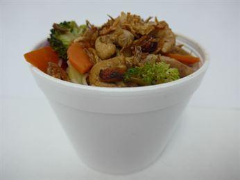 Hot Noodle Box - Thai chicken stir-fry (g/f)