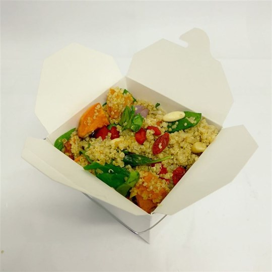 Noodle Box - Chicken with Roasted Vegetable Quinoa Salad (g/f)