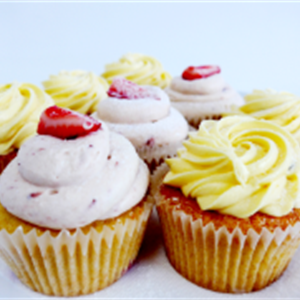 Cup cakes - assorted flavours (min 12)