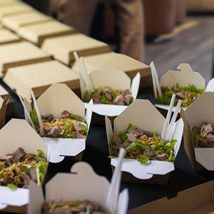 Noodle Box Salads & Hot Noodle Boxes