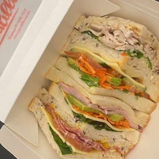 Gourmet Traditional 4 Point Sandwich (Individually Packaged in Small Window Box)