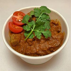 Hot Noodle Box - Tomato lamb curry (g/f)