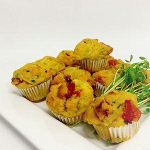 Assorted savoury muffins - chefs selection