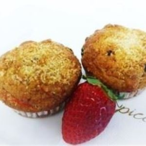 Delicious breakfast muffin - combo apple, carrot, walnut, coconut (min 6)