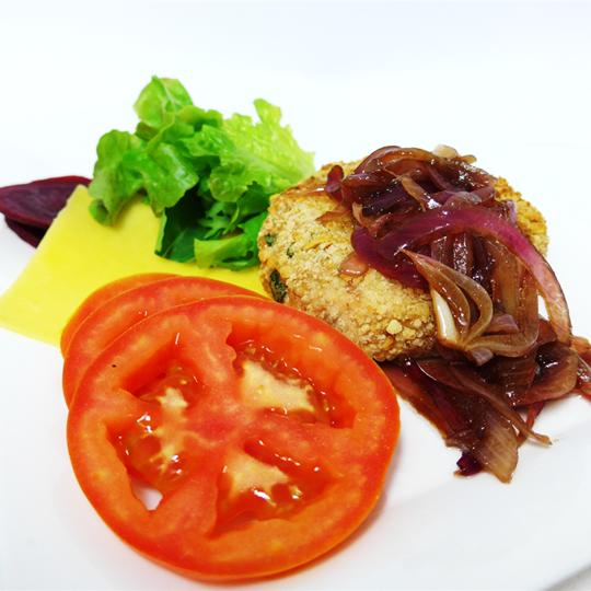 MYO Chicken Burger