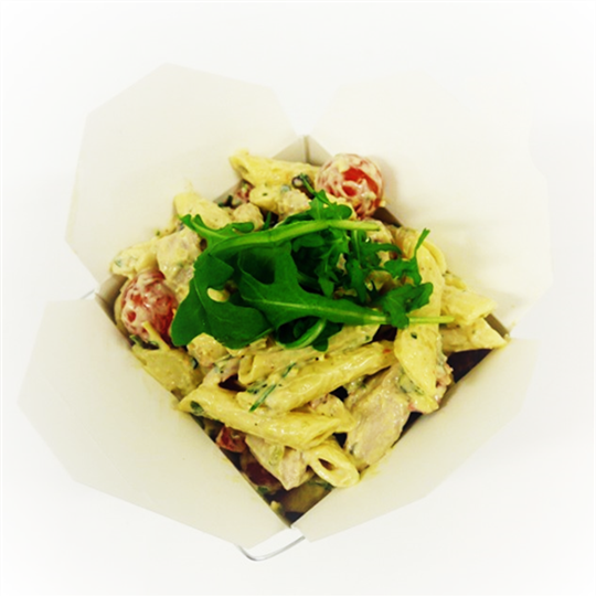 Noodle Box - Chicken Penne with Creamy Pesto Dressing
