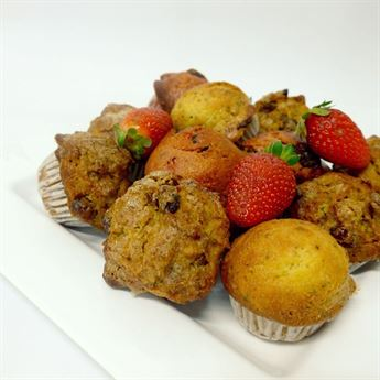 Assorted sweet muffins - chef's selection