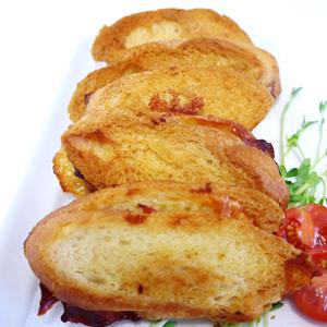 Buttery Mini Ham Cheese Toasties (min 10)