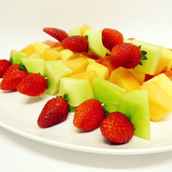 Fresh Fruit Kebab (g/f)