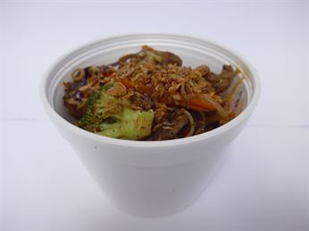 Hot Noodle Box - Oriental beef stir-fry (g/f)