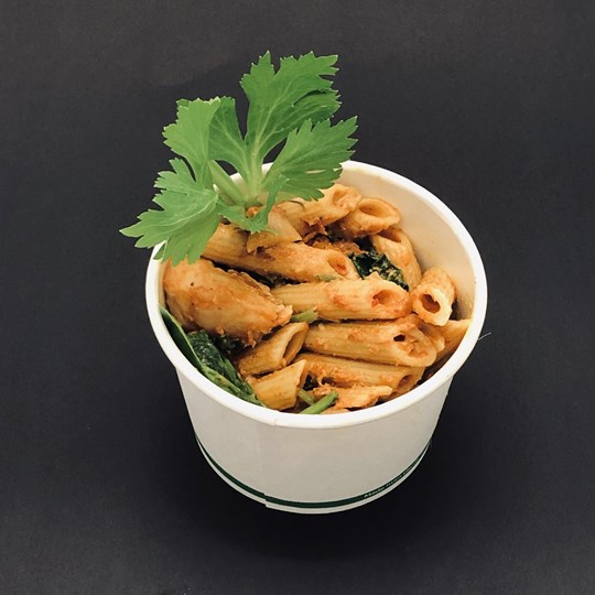 Hot Noodle Box - Chicken Pasta in a Spicy Sauce