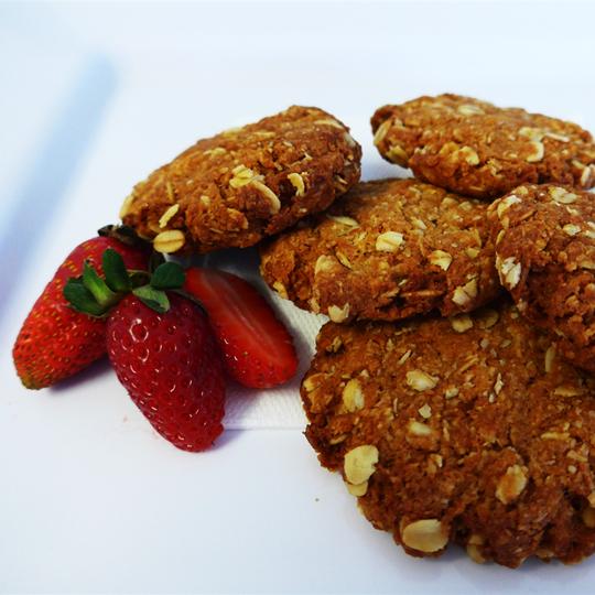 ANZAC Biscuits (2 per serve)
