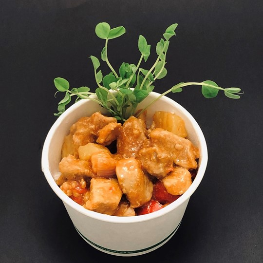 Hot Noodle Box - Sweet & Sour Pork with Basmati rice (g/f)